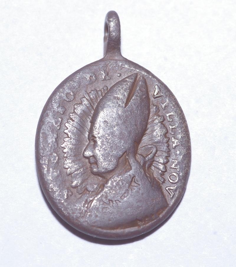 Médaille St-Jean-de-St-Facond - religieux de l'Ordre de St-Augustin - XVII / XVIIIème Imgp0027