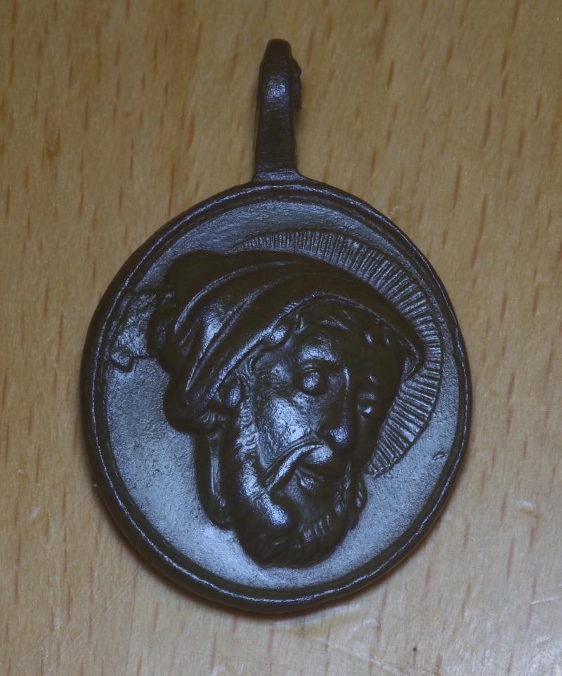 !!! Magnifique !!! Médaille St Anastase - XVIIIème Saint_10