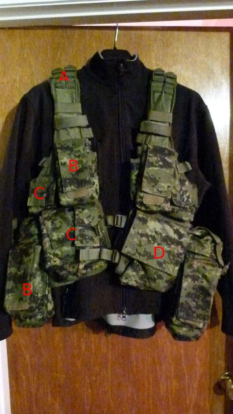 For Sale: South African Assault Vest CADPAT Saav110