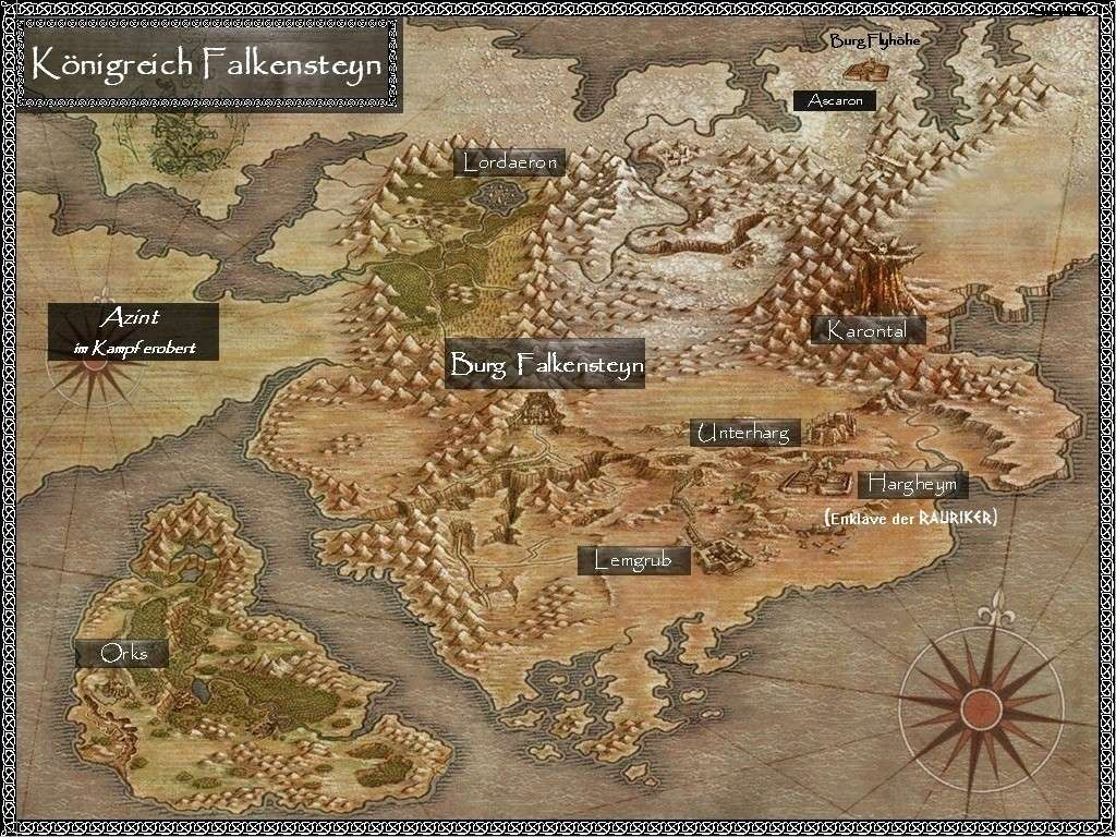 Grenzfestung von Azinth, am Vorabend der Abreise Falken10