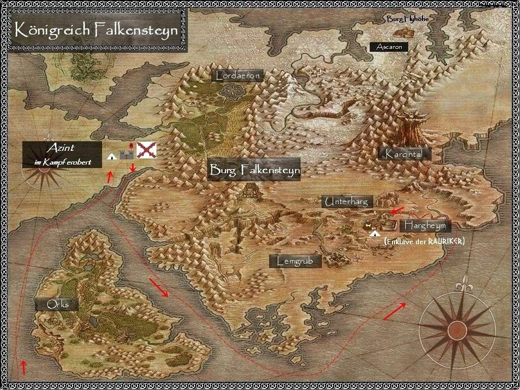 Der Kriegszug der Swajuts unter dem Banner des Falken im Jahr 12 Falken12