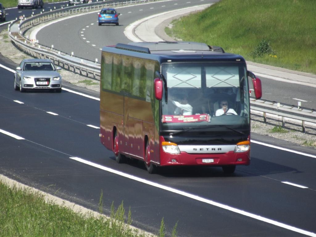 Kässbohrer Setra (Ulm) (Allemagne) (post uniquement pour les Setra sans inscriptions) Camio699