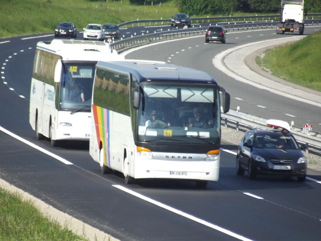 Kässbohrer Setra (Ulm) (Allemagne) (post uniquement pour les Setra sans inscriptions) Camio793