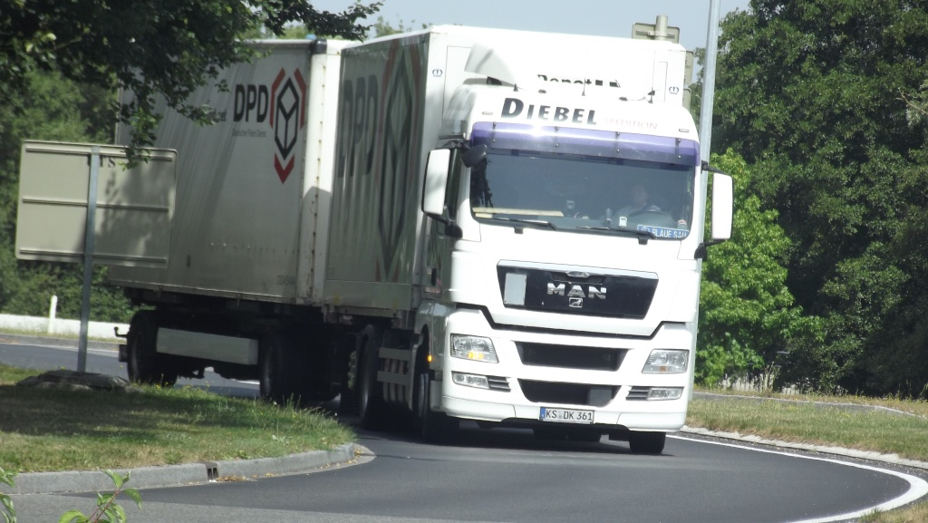 Diebel Spedition (Kassel),transporteur pour DPD (Dynamic Parcel Distribution) Photo100