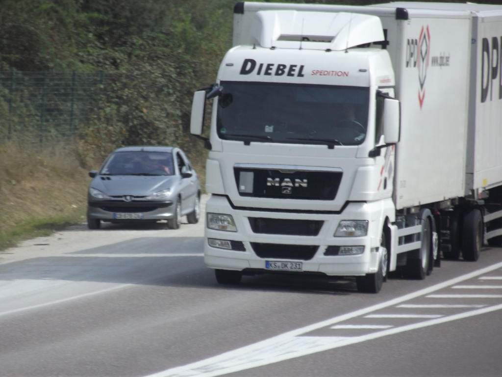 Diebel Spedition (Kassel),transporteur pour DPD (Dynamic Parcel Distribution) Photo353