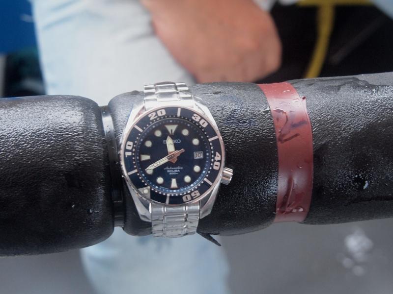 Résultats du test montres et plongée du CHA 2011 P9183124