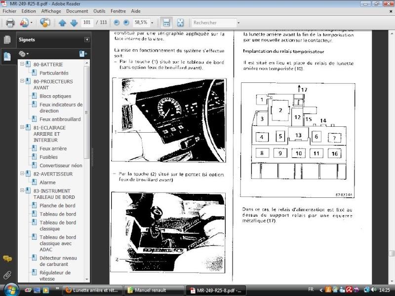 Lunette arrière et rétroviseurs Platin12
