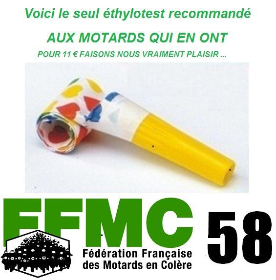 Ethylotest obligatoire pour les motos Ffmc10