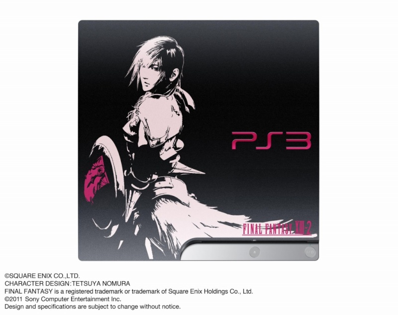 "Anunciada la ""PlayStation 3 Final Fantasy XIII-2 Lightning Edition Ver. 2″ Ps3-ff10"