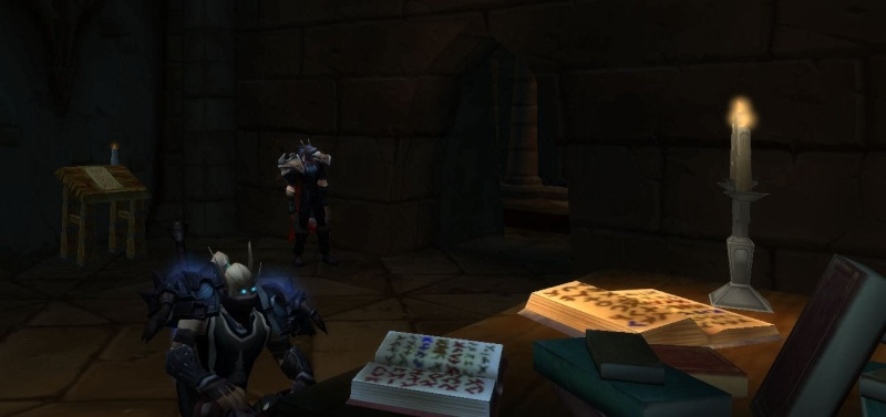 [Intervention] A la recherche de Maldictus, le moine maudit de Lordaeron Bibli210