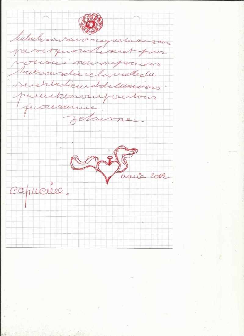 L'écriture et dessin automatiques Capuci10