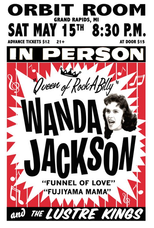 Wanda Jackson and the Lustre Kings (Orbit Room) 74289_10