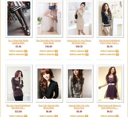 Roupas femininas direto do atacadista chinês!!! Rising10