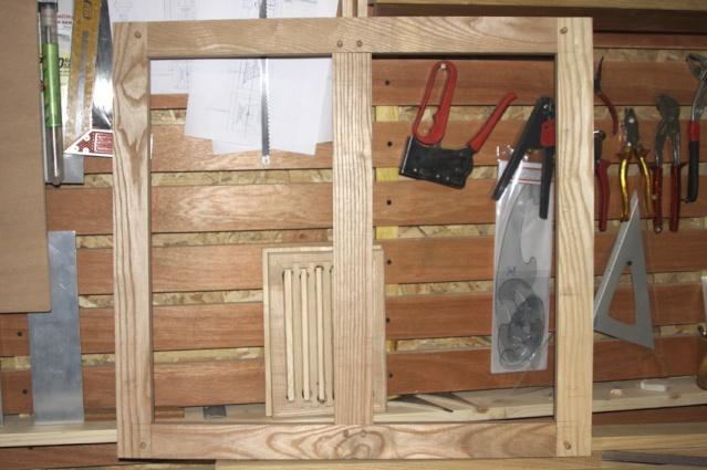 [fabrication] Meuble de salle de bains en Robinier Cadre-10