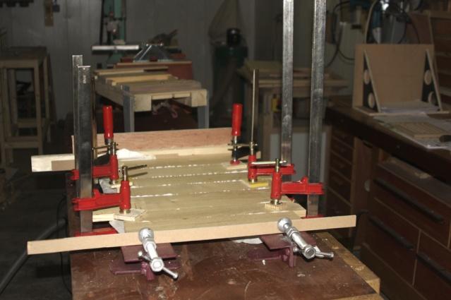 [fabrication] Meuble de salle de bains en Robinier Collag13