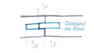 Profil contreprofil sobre/caché Domino10