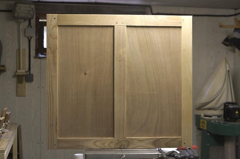 [fabrication] Meuble de salle de bains en Robinier Img_1210