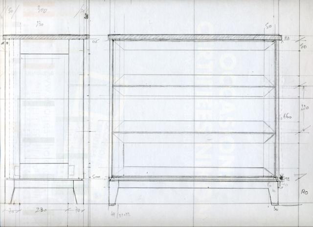 [fabrication] Meuble de salle de bains en Robinier Meuble10