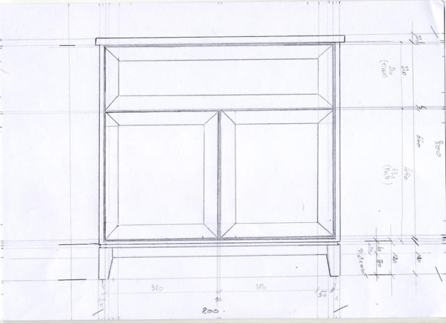 [fabrication] Meuble de salle de bains en Robinier Meuble11
