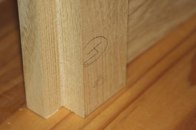 [fabrication] Meuble de salle de bains en Robinier Montan10