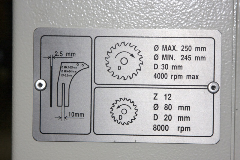 [Présentation] Scie à format MINIMAX SC2 Plaque10