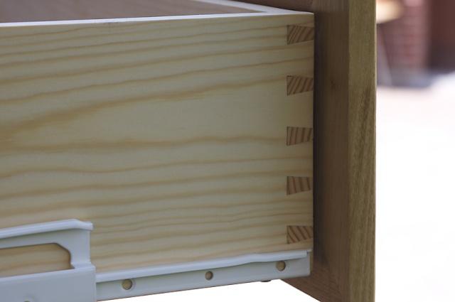 [fabrication] Meuble de salle de bains en Robinier - Page 4 Tiroir12