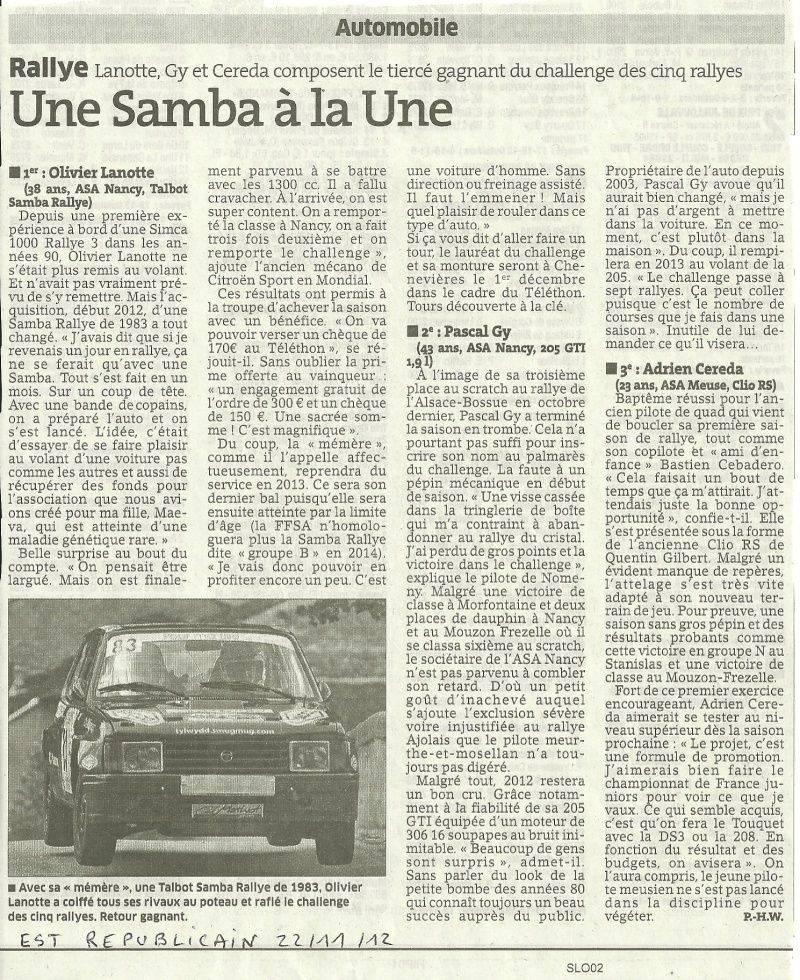 Vos Questions / Vos photos sur le rallye Samba_15