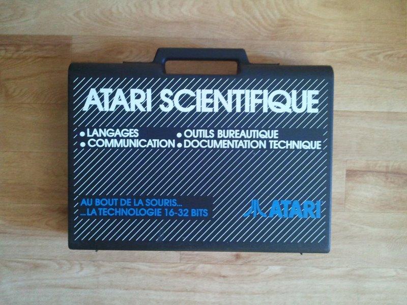 Identificatio d'une valise Atari Atari110