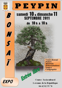 PEYPIN(13) 10 et 11 septembre 2011 expo bonsai 11091010