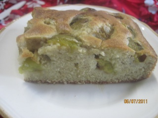 gâteau aux prunes reines claudes Mousti13