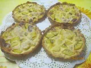 Tartelettes aux kiwis jaunes Tartel12