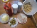 Petites courgettes farcies au poisson en sauce Img_0060