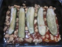 Petites courgettes farcies au poisson en sauce Img_0064
