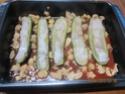 Petites courgettes farcies au poisson en sauce Img_0065