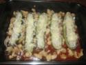 Petites courgettes farcies au poisson en sauce Img_0066