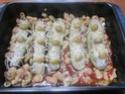 Petites courgettes farcies au poisson en sauce Img_0067