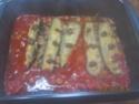 Petites courgettes farcies au poisson en sauce Img_0068