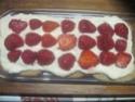 tiramisu   au philadelphia  et  fraises, kirsch Img_0109