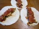 Tortilla, poivrons et dinde, sauce tomates, gratinés Img_0137