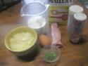 Croissants aux jambon,champignons en sauce.photos. Img_0257