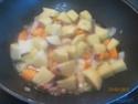 Jardinière aux légumes au sauté de porc Jardin33
