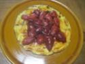 omelette sucrée aux fraises.photos. Pizza_27
