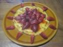 omelette sucrée aux fraises.photos. Pizza_28