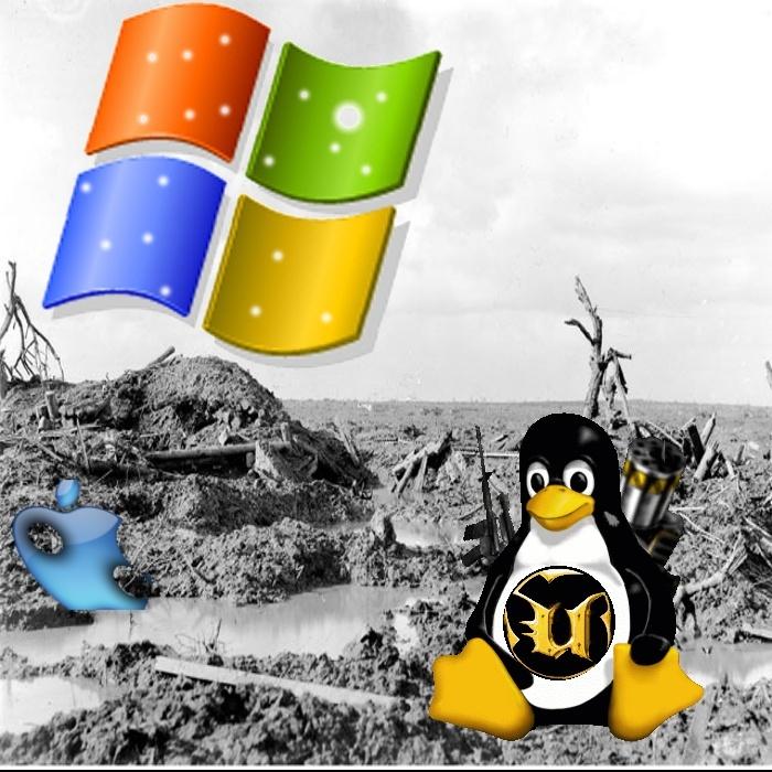 Quand on a Gimp sous les mains et que Windows rame... on pense à Linux... Linux_10