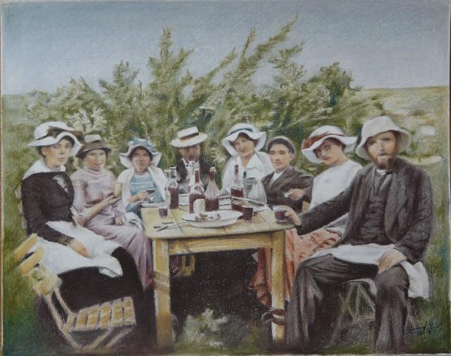 Repas champêtre en 1900 Repas_10