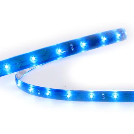 Eclairage bleu autour des porte-gobelets 0110