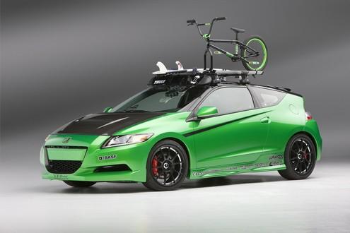 CR-Z & vélo Honda-11