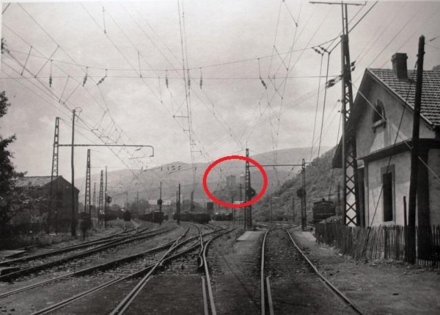 Gare de Foix ancien cliché / Recherche du lieu de  cette photo A818fc10