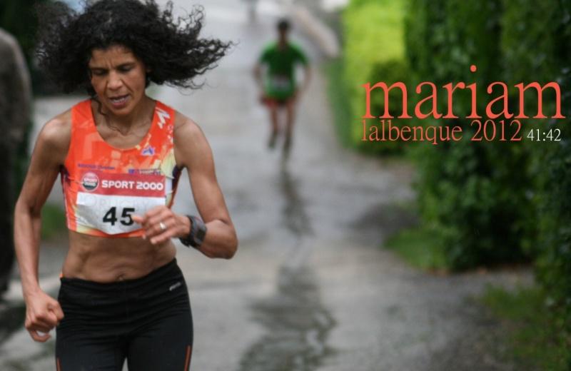 Les 10 km du Diamant Noir 2012 : la course ! (CR, photos, résultats)   - Page 2 Mariam13