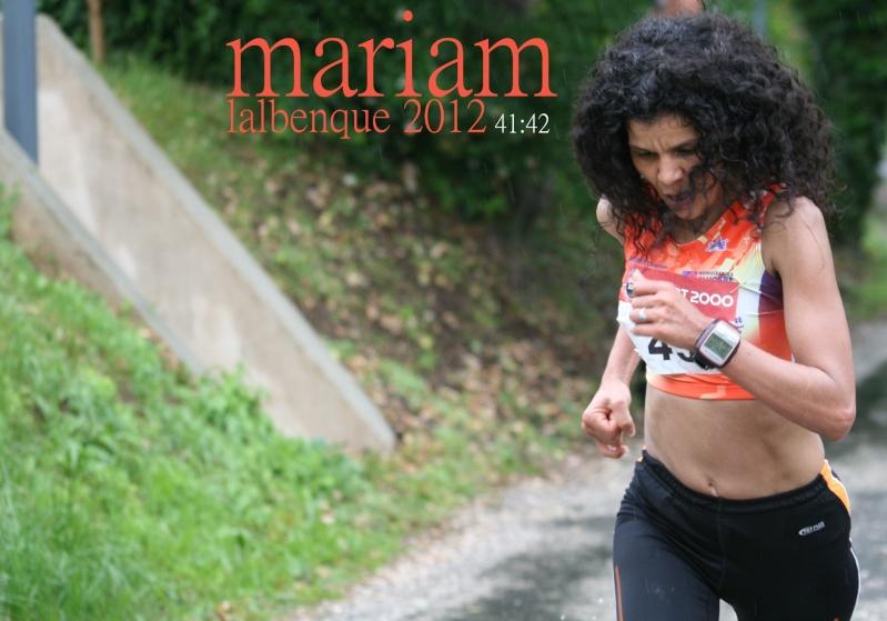 Les 10 km du Diamant Noir 2012 : la course ! (CR, photos, résultats)   - Page 2 Mariam14